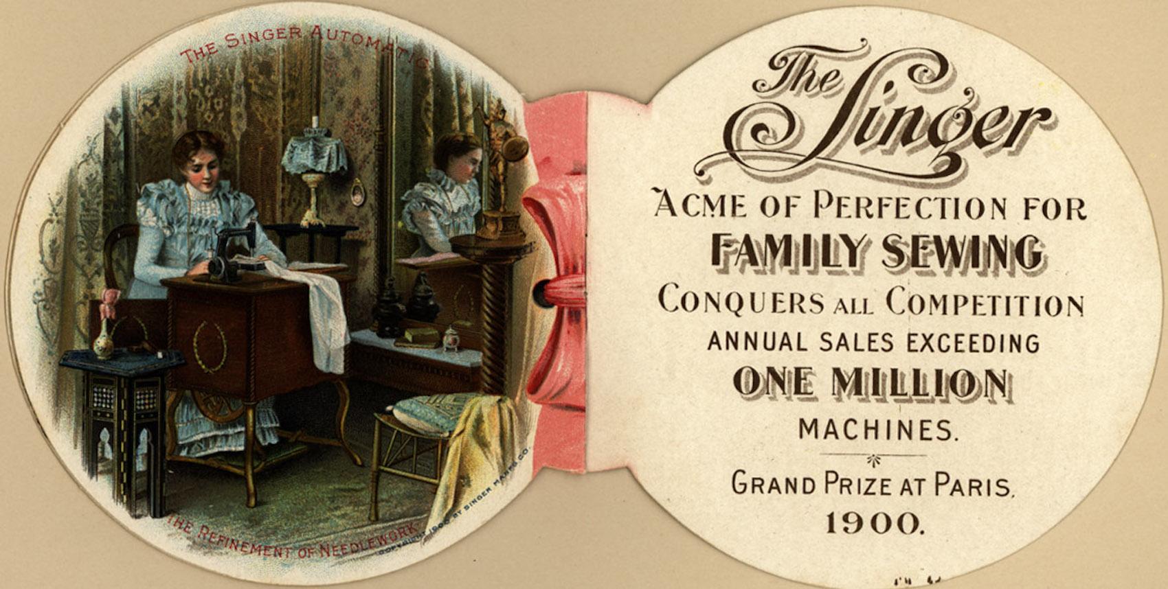 Singer, la machine à coudre et la première multinationale de l'histoire