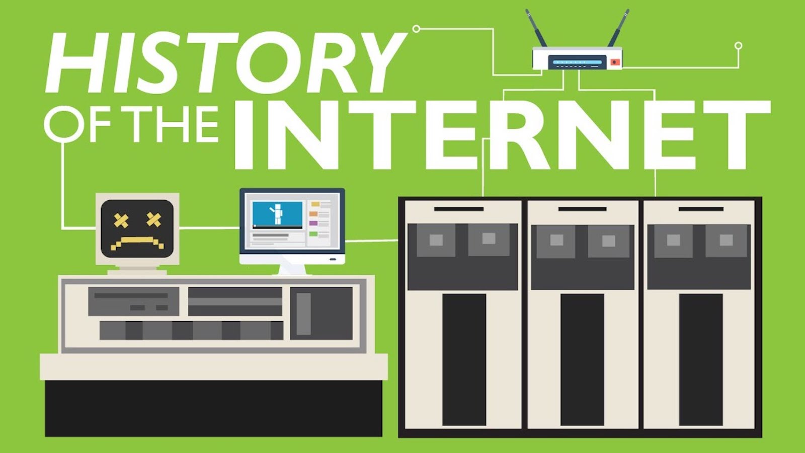 Arpanet 1969, l'histoire d'Internet commence !