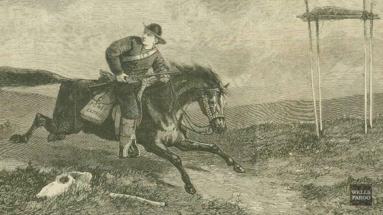 Henry Wells et William Fargo, les pionniers de la messagerie express