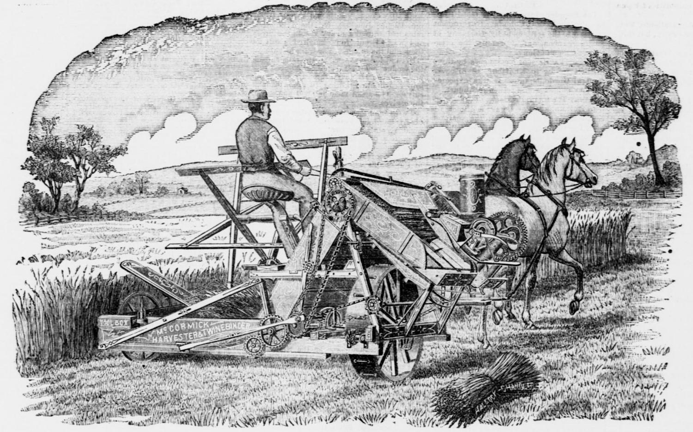 Cyrus McCormick, la moissonneuse et la naissance de l'agriculture mécanisée