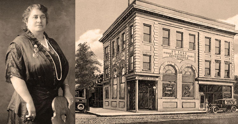 Maggie Lena Walker et l'avènement de la « banque noire » aux Etats-Unis