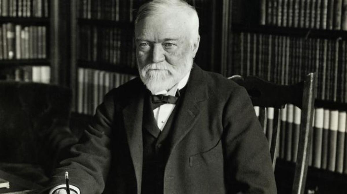 Andrew Carnegie, industriel et philanthrope